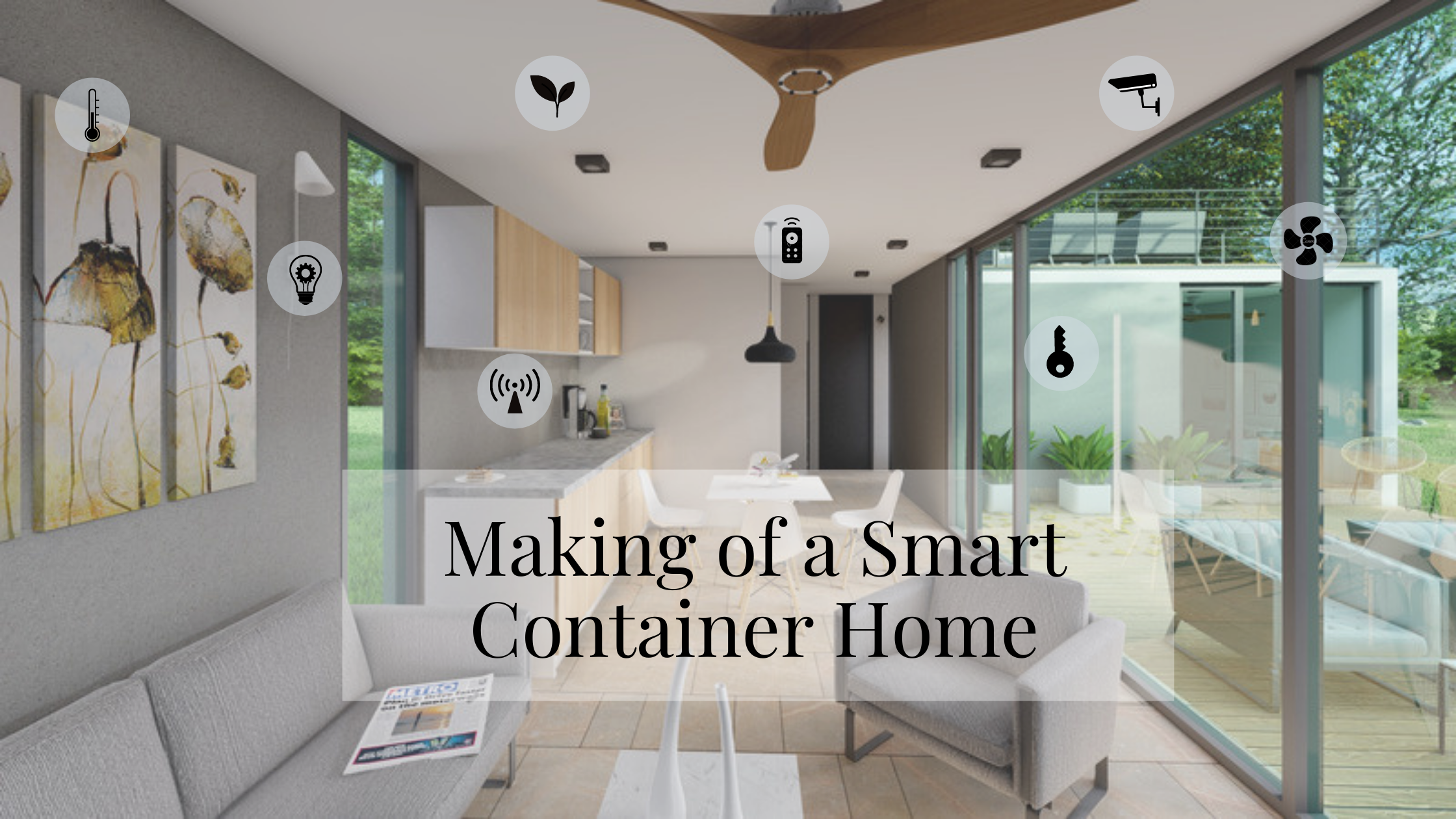 building a smart container home