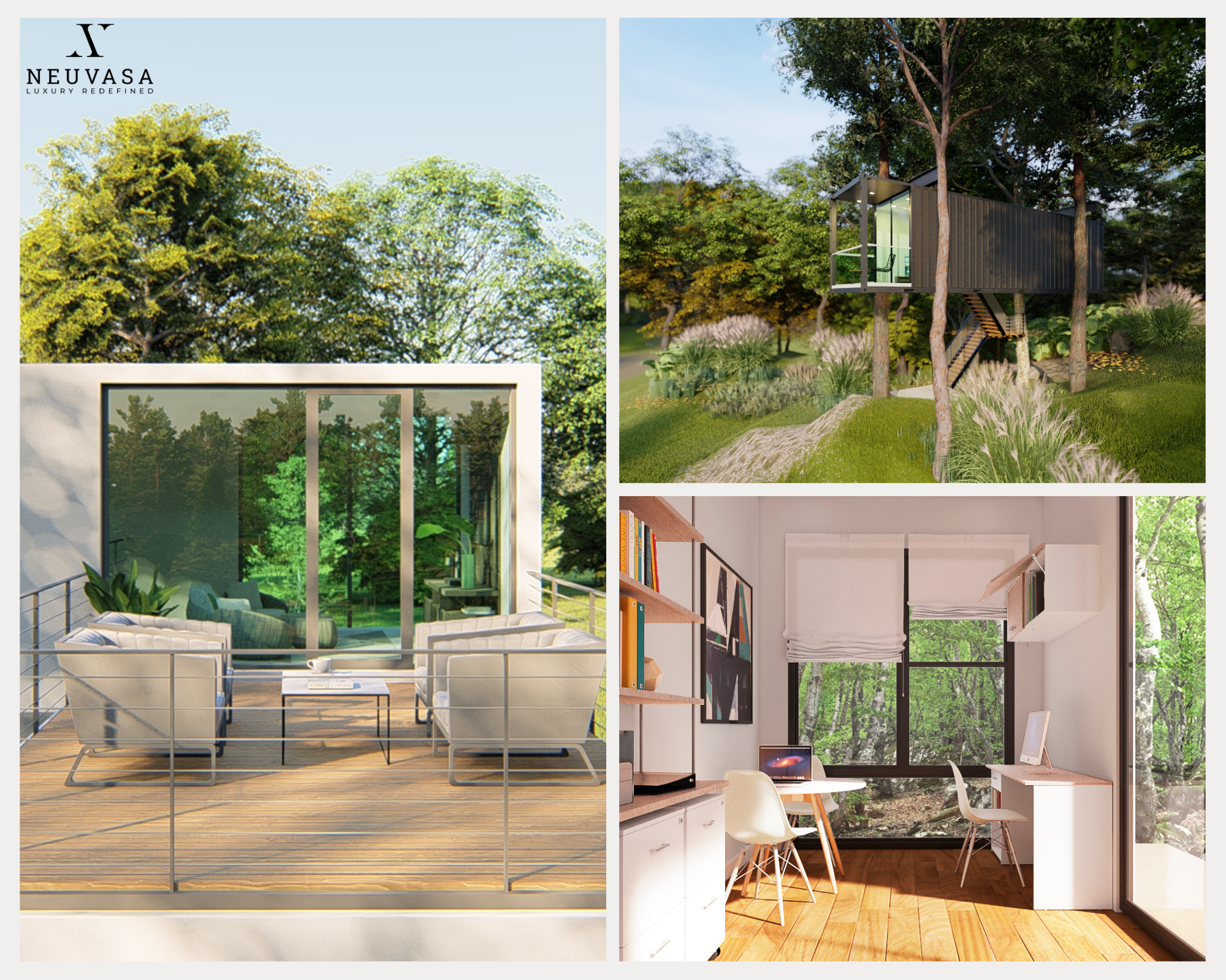 sustainable living through neuvasa container home